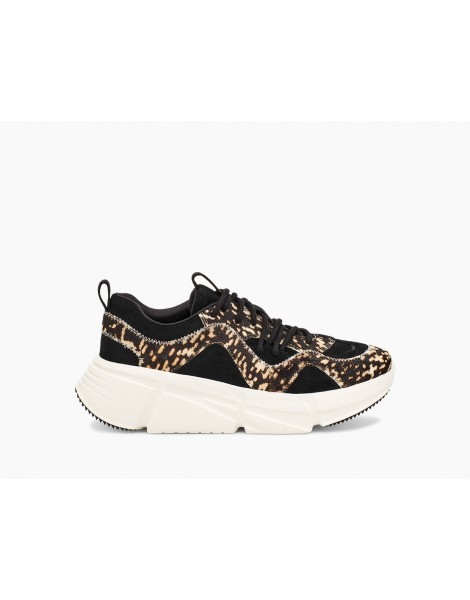 SNEAKERS CALLE LACE SPECKLED BLACK