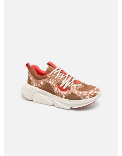 SNEAKERS CALLE LACE SPECKLED CHESTNUT